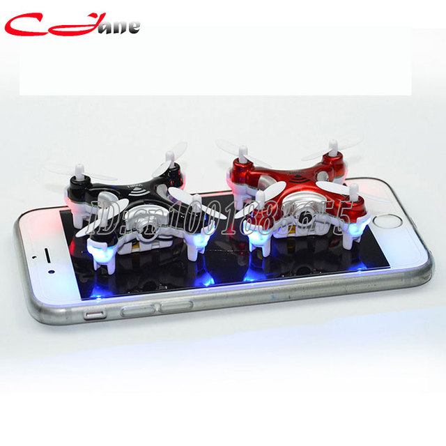 Mini toys 4-2.4 GHzQuadcopter CH 6 - Axis Gyro equipped with camera RC Aircraft VS Hubsan LED RC Helicopter RTF gift