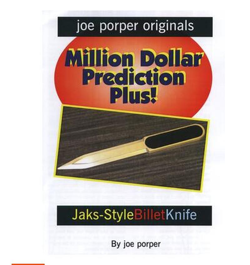 Recommander! Billet Couteau Jaks Style par Joe P tour de Magie, Close Up Magie, Mentalisme, Prophétie Magique, accessoires de magie pour magiciens