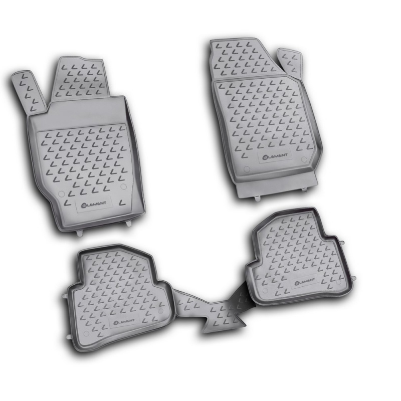 цена на Floor mats for Skoda Fabia 2007~2015 rugs non slip dirt protection interior car styling accessories