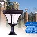 0.43M 200LM Outdoor LED Solar Garden Post Light Waterproof Pillar Lamp for Garden Decor Wall Path Landscape Lawn Yard Street