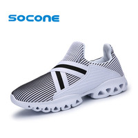 Socone Zapatillas Deportivas Hombre Breathable Sport Shoes Male Athletic Outdoor Sneakers EU 36 44 Women Air