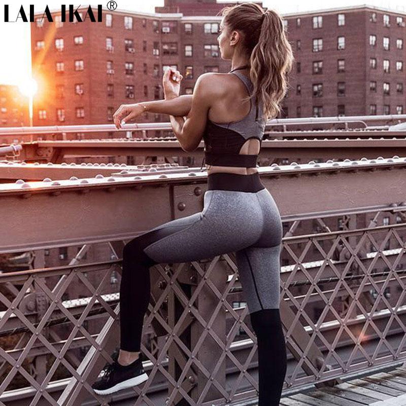fefc0c4d98 Description  yoga yoga set women s sports suits gym leggings sport wear  women ropa deportiva mujer sport clothes for women women sport suit yoga  clothesyoga ...
