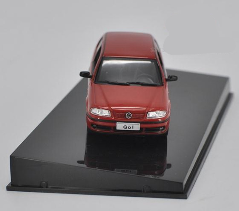 Original High simulation Volkswagen GOL car model, 1: 43 alloy car toy model, metal castings, collection vehicle, free shipping free shipping alloy engineering vehicle model 1 87 tower cable car crane toy original factory simulation children