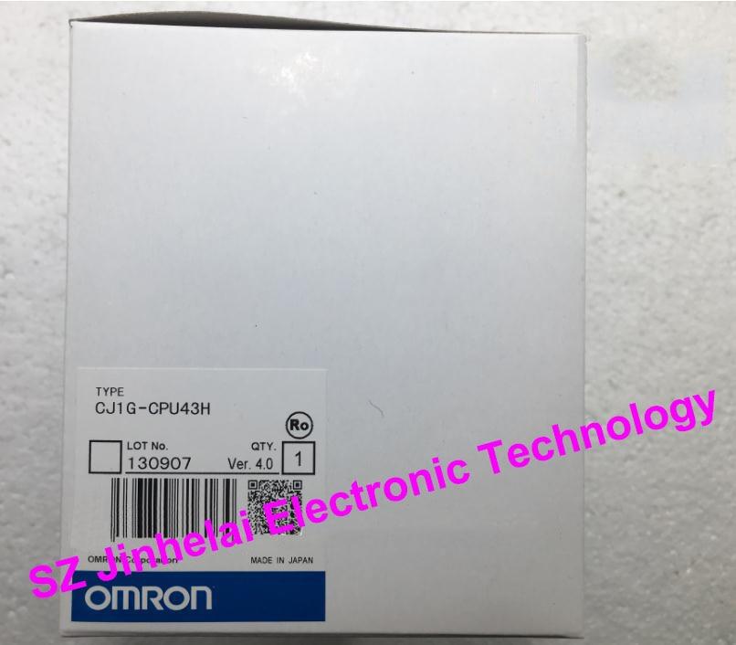 OMRON CPU UNIT  CJ1G-CPU43H  New and original [zob] new original omron omron beam photoelectric switch e3jk tr12 c 2m 2pcs lot