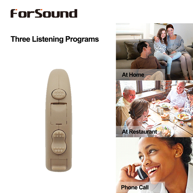 3pcs Super Power Digital BTE Hearing Aid H P trimmer 3 Programs Telecoil Like Siemens FAST P FUN P Phonak Hearing Aid Quality