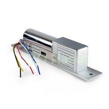 5 Líneas De baja Temperatura con retardo de tiempo Electrónico Perno Gota Cerradura de la puerta para el sistema de control de acceso cerradura eléctrica DC12V para puerta