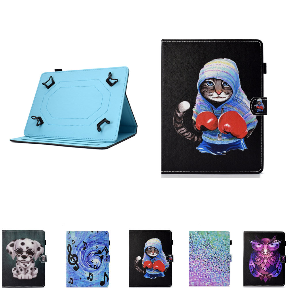 PU Leather Cute Universal Cover For <font><b>Samsung</b></font> <font><b>Galaxy</b></font> <font><b>Tab</b></font> <font><b>3</b></font> 7.0 T210 <font><b>T211</b></font> P3200 P3210 Tab2 7.0 P3100 P3110 P3113 7 Inch Tablet Case image