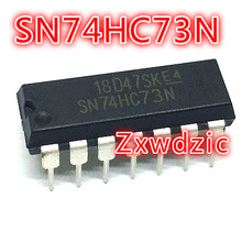 5PCS SN74HC73N DIP14 74HC73 DIP SN74HC73 DIP-14 NEW ORIGINAL tca965b dip14 high quality