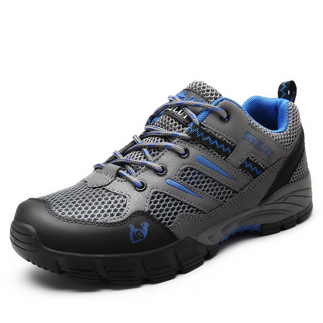 Men Women Hiking Shoes Outdoor Trekking Sneakers Summer Breathable Mesh Non-slip Hunting Climbing Sports Shoes