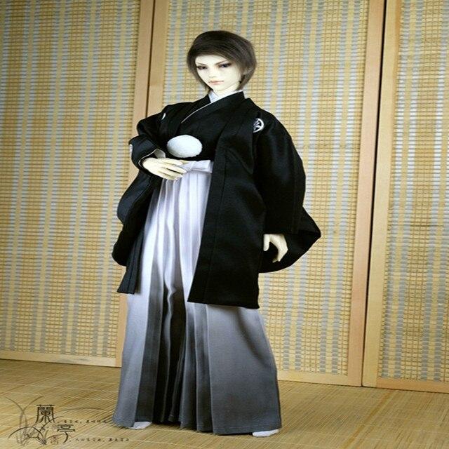 1/3 1/4 BJD SD куклы Японские кимоно ТРЕТ призрак свадебное платье перо Zhiku