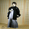 1/3 1/4 BJD SD doll Japanese kimono TERT ghost wedding dress feather Zhiku