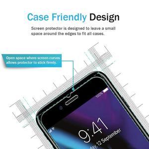 Image 2 - Per iPhone 8 Più di 7 6 6S X XS Max XR 11 Pro 12 Mini 5 S SE 2020 5 Protezione dello schermo Pellicola di Protezione In Vetro Temperato Screenprotector