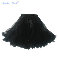 Favordear 2017 New Arrival Wholesale In Stock Girls Petticoat Skirts Tutu Tulle Crinoline Underskirt Hot Sale