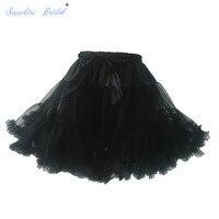 Favordear 2017 New Arrival Wholesale In Stock Girls Petticoat Skirts Tutu Tulle Crinoline Underskirt Hot Sale