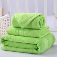 3 Pcs Cotton Towel Sets Geometric Embroidered Hand Towel+Face towel +Bath Towels Soft Luxury Gift Super Quality Home Textile