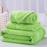 3 Sztuk Bawełniane Komplety Ręczników Geometria Haftowane Ręcznie Ręcznik + ręcznik Do Twarzy + Ręczniki Miękkie Luksusowe Prezent Super Jakość Tekstylia domowe