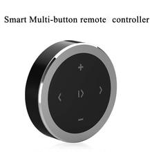 Беспроводной Bluetooth Автомобильный пульт дистанционного управления телефон автомобильный комплект Рулевое колесо Пульт дистанционного управления приемник CR2032 батарея для IOS Android