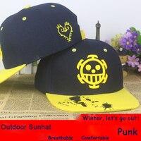 Anime One Piece Trafalgar Law Cotton Baseball Cap Sun Hat Cosplay Gift Hip Hop 2015 NEW