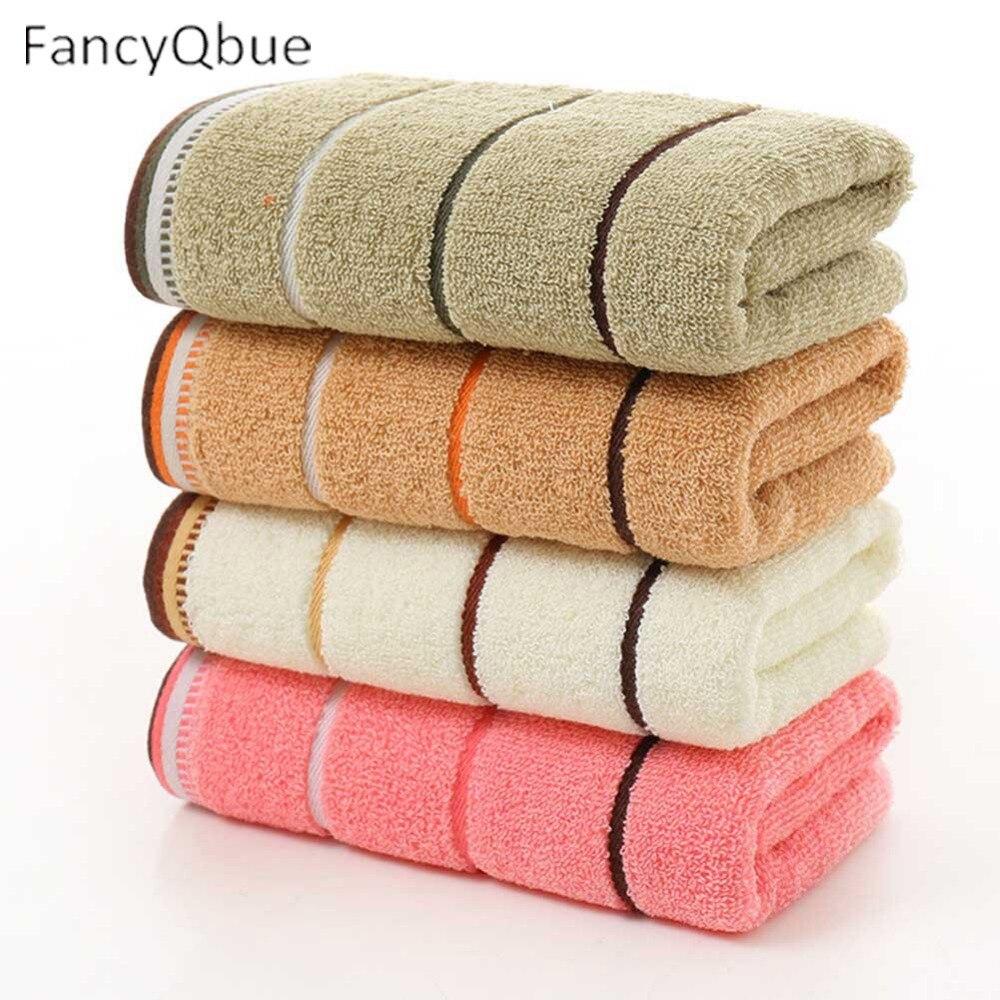 1/Pc Cotton Face <font><b>Towels</b></font> For Adults Women Men kids Bathroom Hand <font><b>Towels</b></font> Turban for Drying 34*74cm