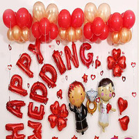 18 Inch English Alphabet Balloon Set Wedding Party Decorations Wedding Ceremony Ballon