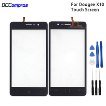 Original Touch Screen For Doogee X10  Touch Panel Glass Replacement For Doogee X10  Touch Panel Free Tools touch panel original for gt gunze usp 4 484 038 g 28 for touch membrane screen touch pad