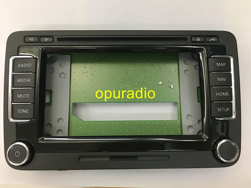 US $42 75 5% OFF CD PLAYER Plastic Frame with Button and PCB for RNS510  Skoda Columbus RNS510 sat nav navigation audio systems-in Car Radios from