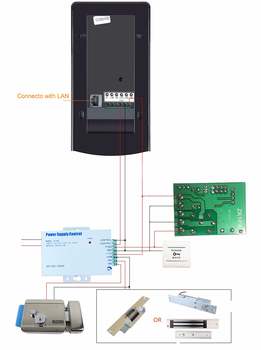 WIFI-power supply controller-wiring