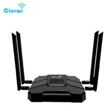 Routeur WiFi Gigabit openWRT avec emplacement pour carte SIM 1200Mbps 2.4G/5GHz 256MB double bande 4G LTE 3G Modem routeur répéteur sans fil