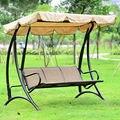 Hawaii Durable fer 3 personne auvent jardin balançoire chaise hamac mobilier d'extérieur housse de siège banc garden swing chair outdoor swing bench garden swing bench -
