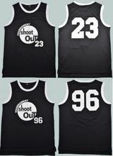 Retro Basketball Jersey 96 Tournament Shootout Movie Jersey S XXL Black Cool Basketball Jersey Shirts Wear