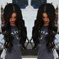 8А Glueless Полный Шнурок Человеческих Волос Парики Перуанский Девы Волос на Теле волна Кружева Передние Человеческих Волос Парики Для Чернокожих Женщин С Ребенком волос