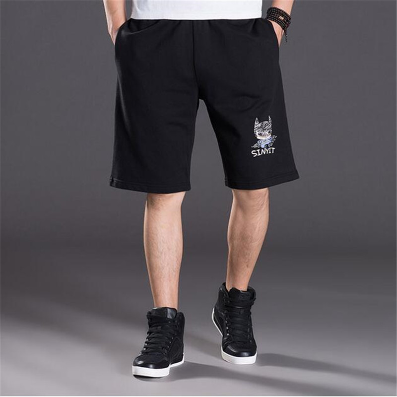 New 2018 Summer Quality Black Slim Cotton Men Golds Brand Shorts Mens Professional Short Gasp Big Size Shorts A3242