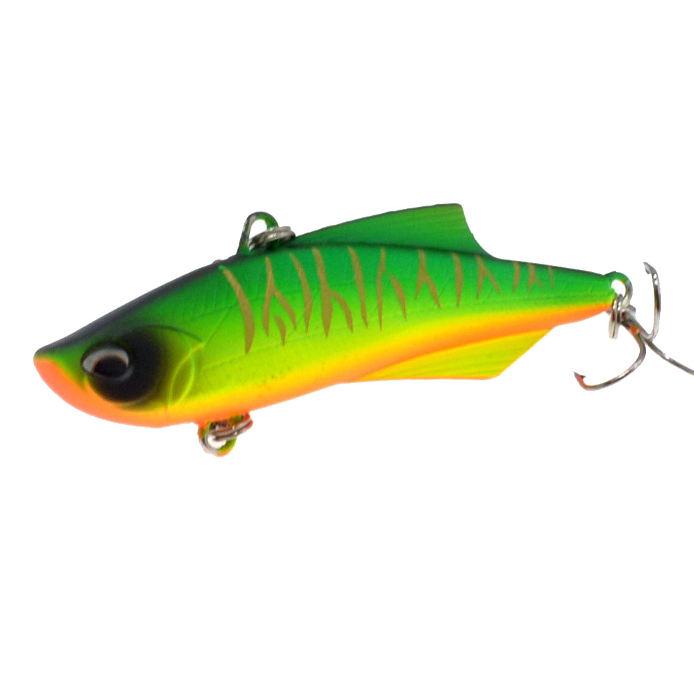 Image 4 - WLDSLURE 1PC Sinking Vibration Fishing Lure Hard Plastic Artificial VIB Winter Ice Fishing Pike Bait Tackle Isca Peche-in Fishing Lures from Sports & Entertainment