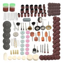 142Pcs Electric Grind Mini Rotary Power Drill Tool Accessory Kit Set