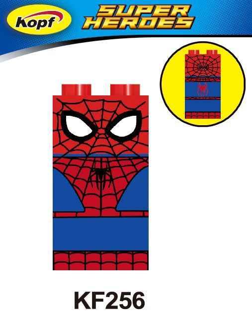Marvel Avengers Super Heroes Deadpool Captain America Spiderma Batman Superman Jurassic Dinosaurs Figures Toys For Kids Legoings