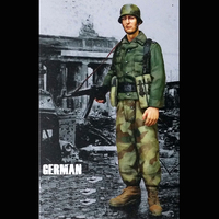 Crazy King1/16 resin soldier model World War II infantry East Germany shipping spot gk hand to do white mold 216