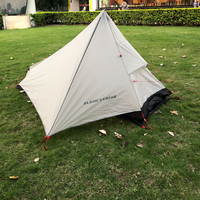 Outdoor Waterproof Ultralight Single 1 person Tent Barraca 1 Pessoa Carpas de Camping Tunnel Tent China Barraca de Acampamento