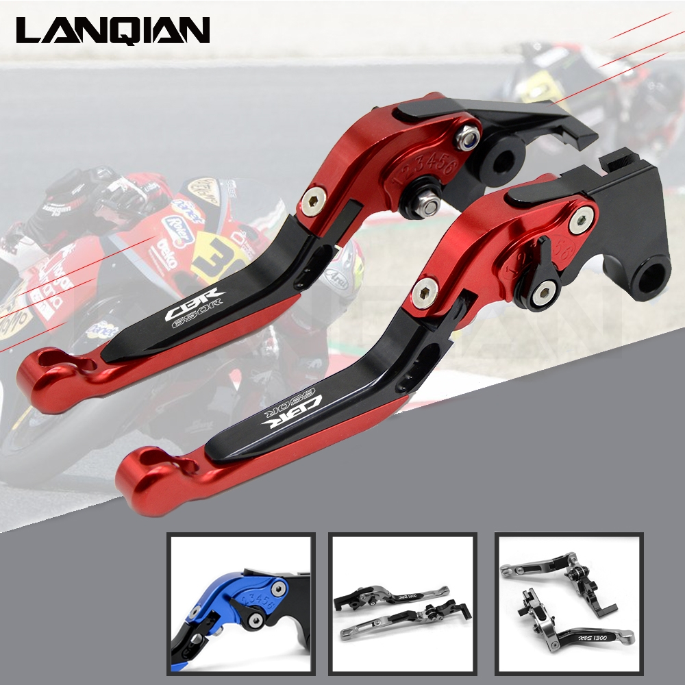 CNC Motorcycle Accessories Adjustable Folding Brake Clutch Levers For honda CBR650R 2018 2019 With LOGO CBR 650 RCNC Motorcycle Accessories Adjustable Folding Brake Clutch Levers For honda CBR650R 2018 2019 With LOGO CBR 650 R