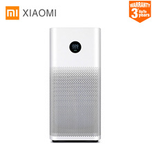 Original Xiao mi inteligente purificador de aire de 2 s pantalla OLED Smartphone mi casa APP Control humo polvo olor Peculiar limpiador