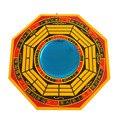 Фэн Шуй желтый деревянный баua вогнутые зеркала пакуа Артикул: S1008-5T