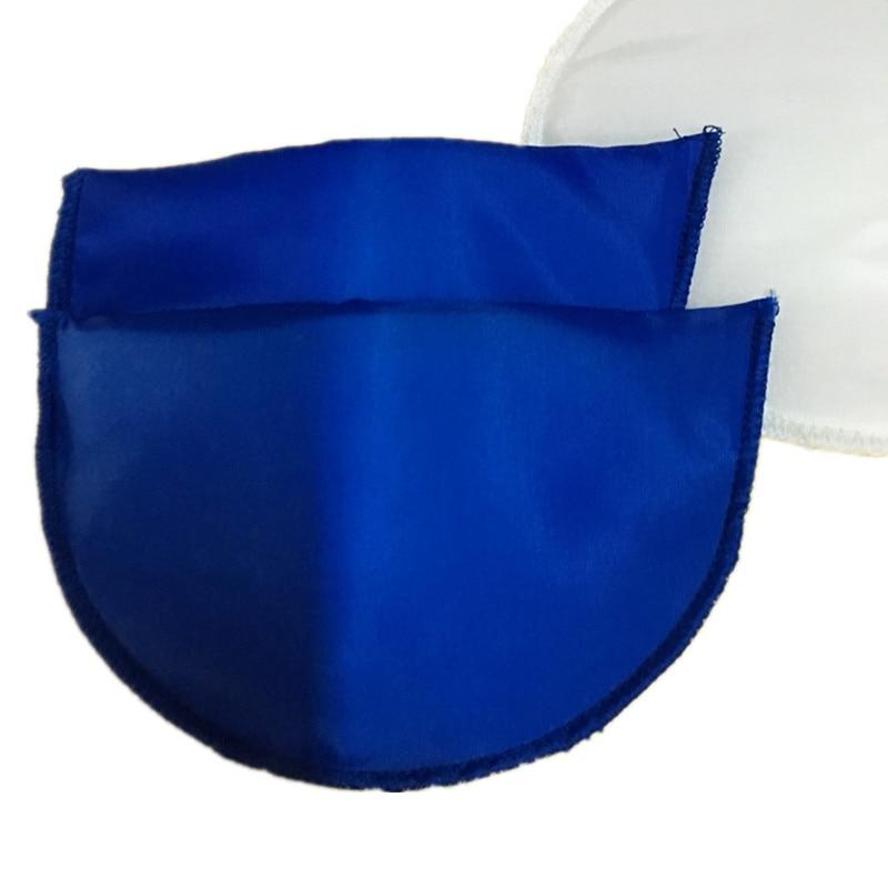 1 пара Высококачественная губчатая Наплечная подкладка для женщин блейзер футболка ветровка одежда аксессуары около 16*10*1 см - Цвет: royalblue