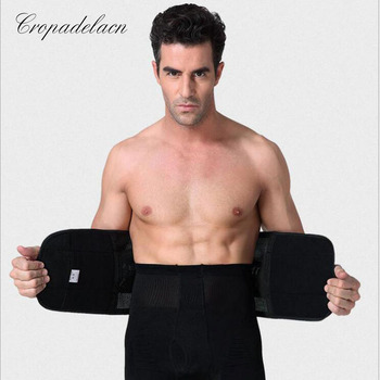 Strong man breathable Abdomen Shaper Body Girdle Slimming wraps Weight loss Sashes Shapewear Waist Trainers MR058