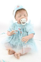 silicone baby doll toy for girl realistic baby