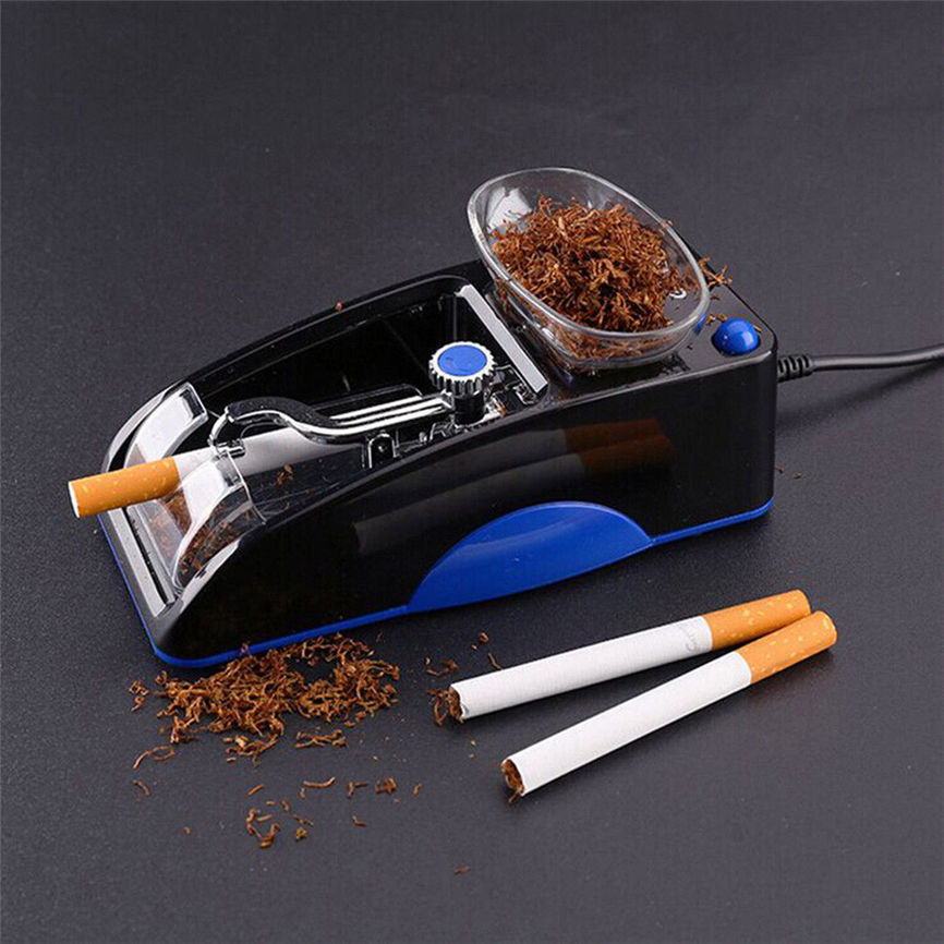 Cigarette Machine Electric Automatic Cigarette Rolling Machine Tobacco Maker Roller USB US Plug Dropshipping 0430 ...