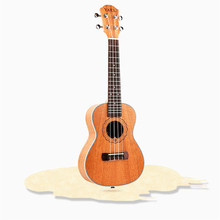 23 inch Ukulele Electric Bass Guitar mahogany 4 Strings Hawaiian Guitar for Lover Beginner