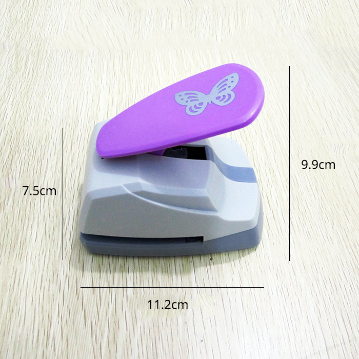 Image 3 - 4.7cm Butterfly 3D Shape Board Hole Punch Large Craft Punch Scrapbooking Machine DIY Tools Handmade Hole PuncherHole Punch   -