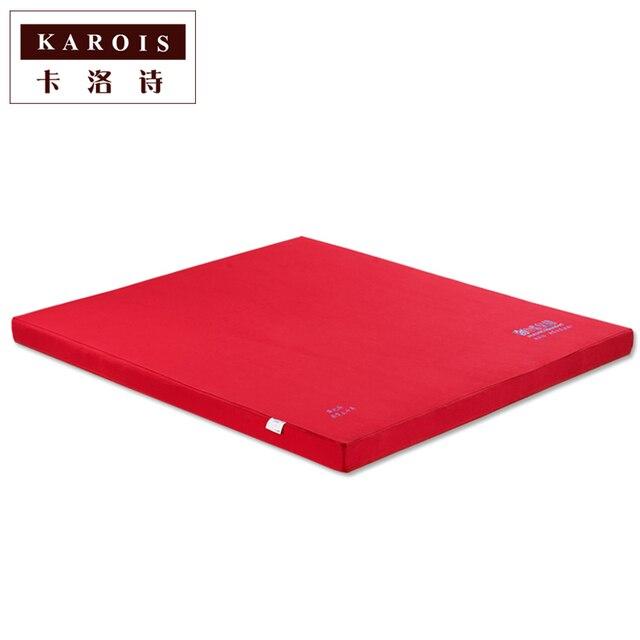karois goedkope prijs natuurlijke palm matras slaapkamer meubels comfortabele matras enviremental coco moer verstelbare matras