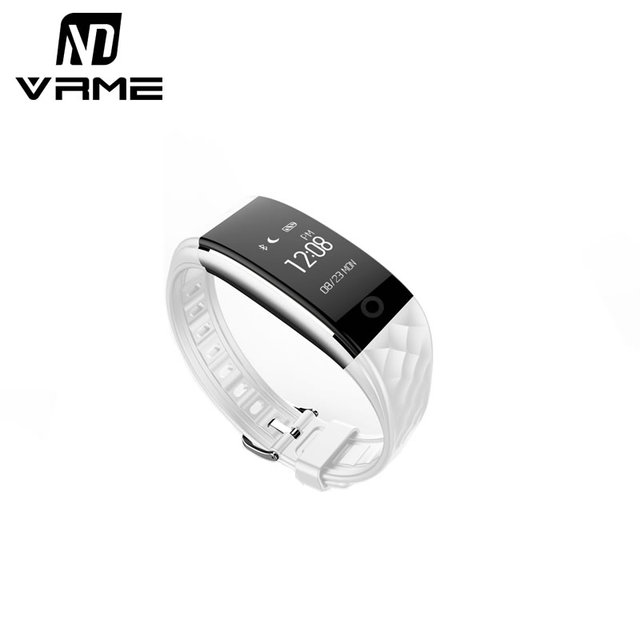 Vrme Smart Wristband Smart Watch Fitness Tracker Heart Rate Monitor Cycling Pedomete IP67 Waterproof for Xiaomi iPhone all Phone