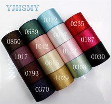 Yjhsmy 1712293,38mm 5 jardas/lote flash impresso fita de gorgorão, acessórios webbing, diy materiais artesanais