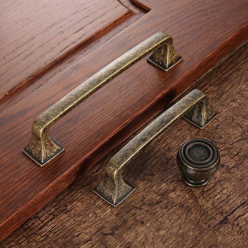 AOBITE Ретро металлическая античная латунь 128 мм кухонный ящик дверная ручка шкафа мебельные ручки шкаф ручки для шкафа 610